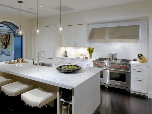 The Ritz-Carlton Residences, Chicago contemporary-kitchen