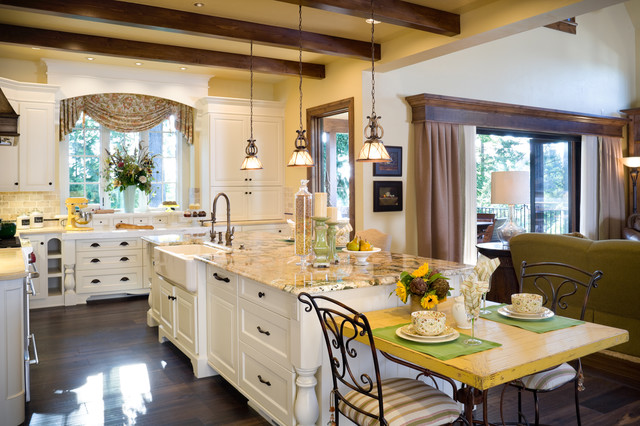 The Rivendell Manor traditional kitchen