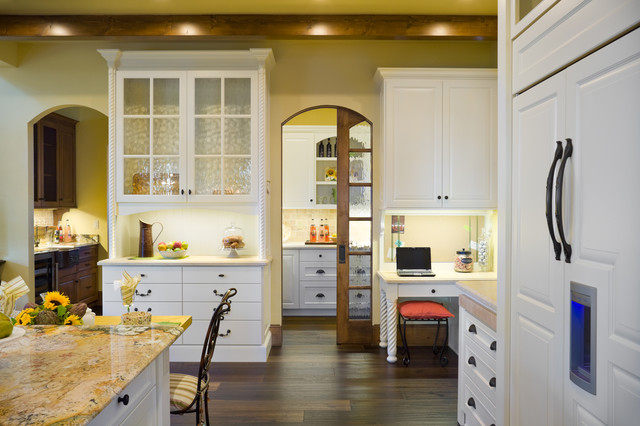 The Rivendell Manor traditional-kitchen