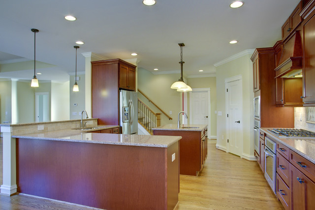 The Ronan traditional-kitchen