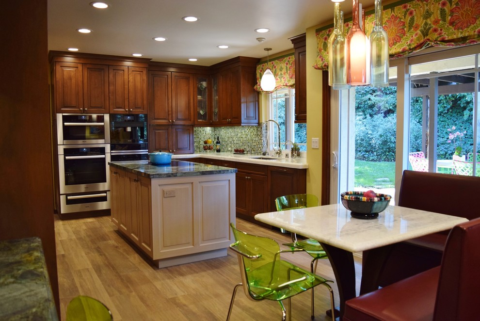 the rubin traditional kitchen remodel in encino, ca