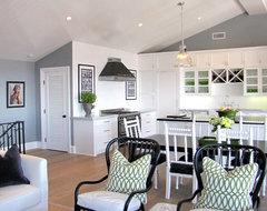 The Sandberg Home beach-style-kitchen