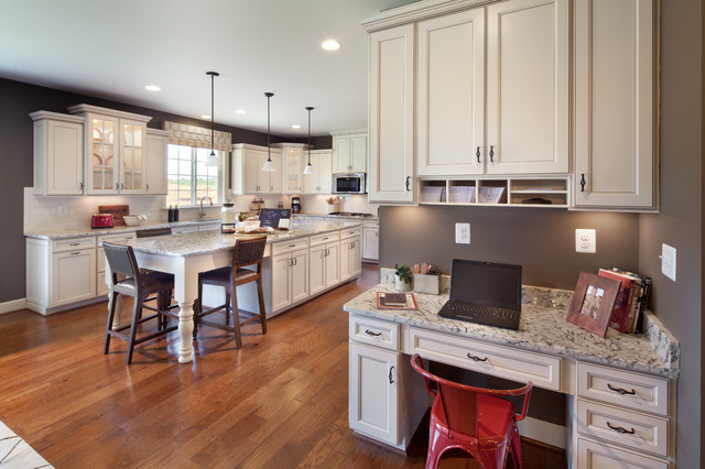 The Sandhurst at Villages of Piedmont at Leopold's Preserve traditional-kitchen