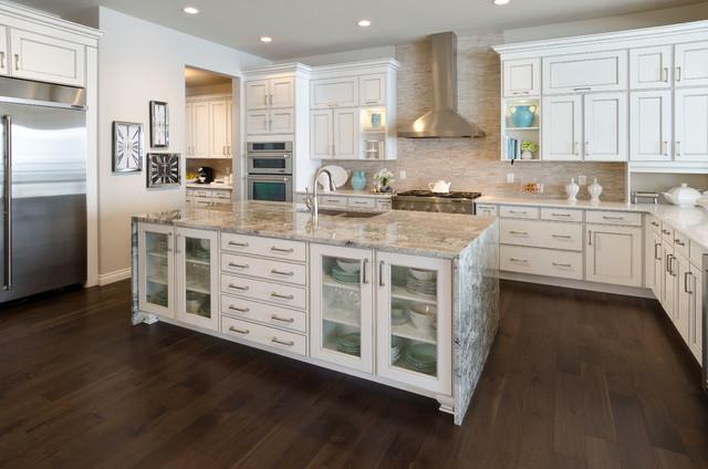 the savannah showhome calgary alberta contemporary kitchen