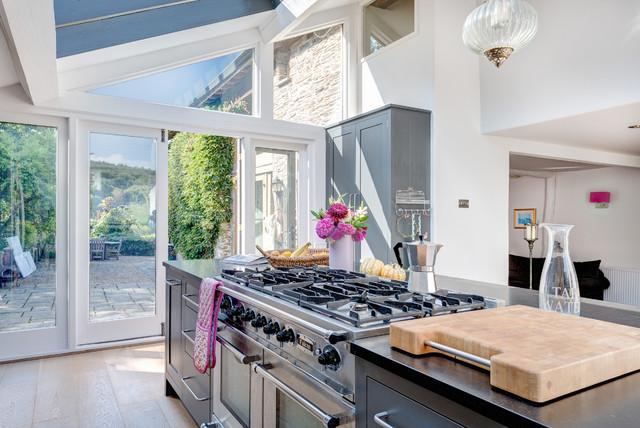 The Secret Barns contemporary-kitchen