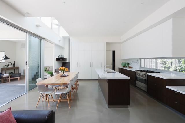 The Sharpe House Modern Kitchen Melbourne By Luke