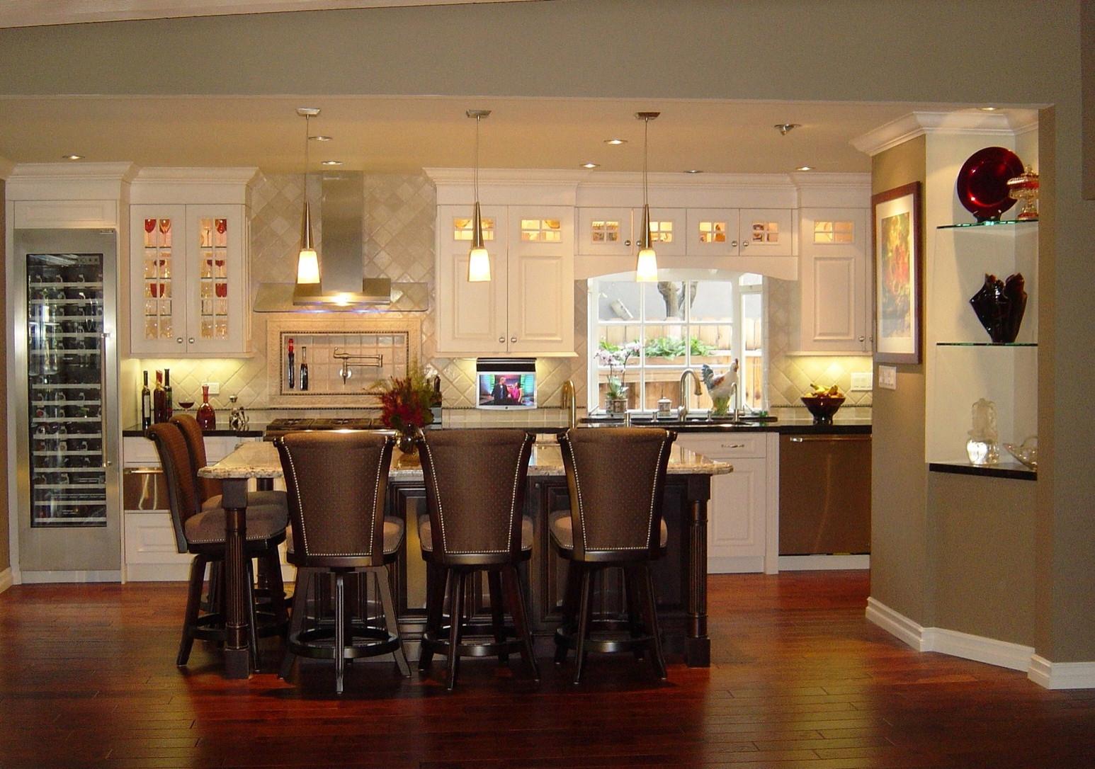 The Sherwood Kitchen and Bath Spa Remodel, La Canada, Ca.