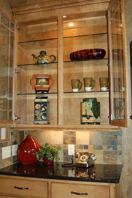 Colorado sienna kitchen cabinets for Buckingham kitchen cabinets