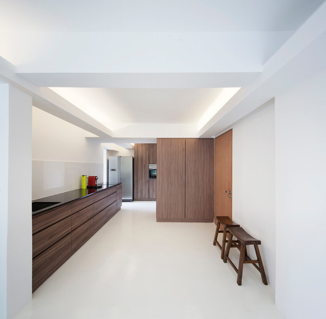The Singapore Apartment Modern Kitchen Singapore By