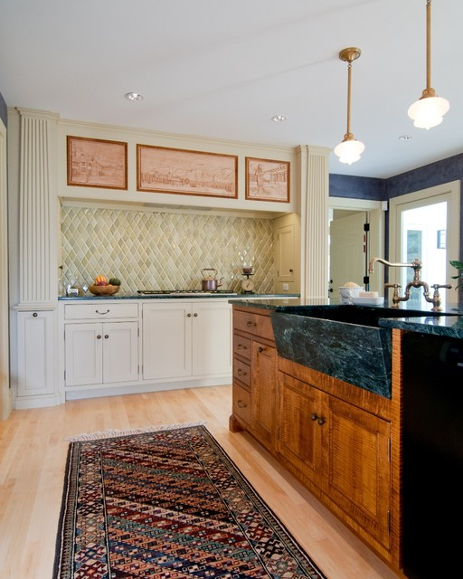 The Styles Bridges House Traditional Kitchen