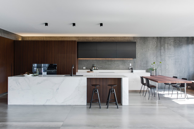 Modern Kitchen Designs crows nest - amazing kitchen design leaves us with house envy