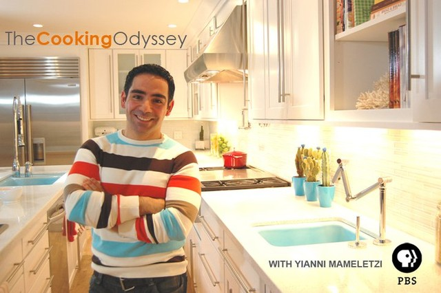 The TBS Television Show: The Cooking Odyssey contemporary-kitchen