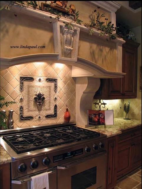 The Ultimate Italian Kitchen Design and backsplash mediterranean-kitchen