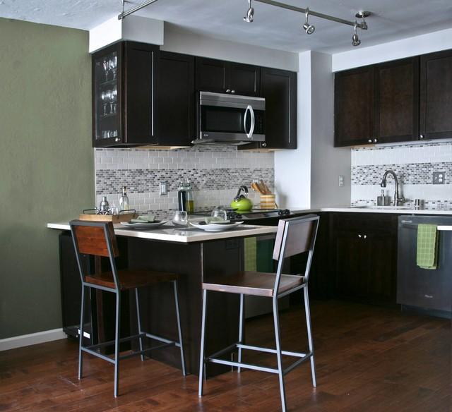 The Un Bachelor Pad Transitional Kitchen San