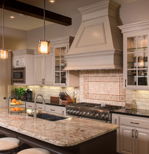 Traditional Open Concept Kitchen: The Verner Residence