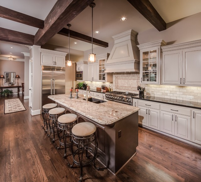 The Verner Residence Traditional Kitchen