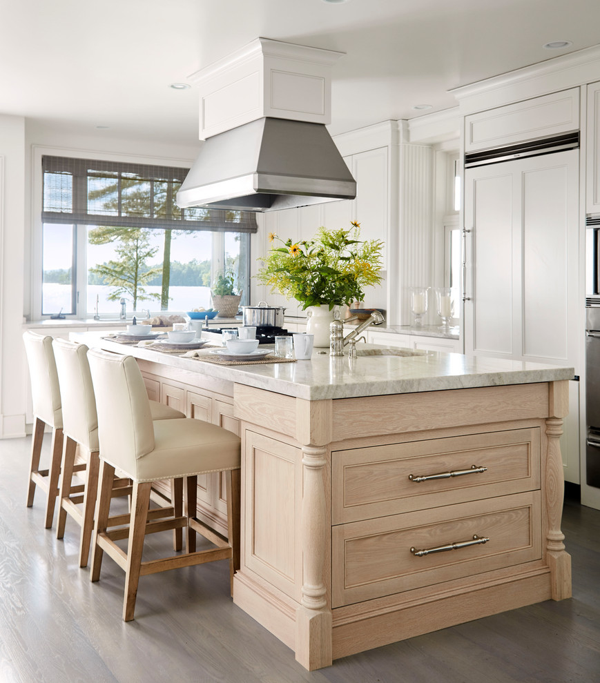 The Welcoming House - Beach Style - Kitchen - Portland ...