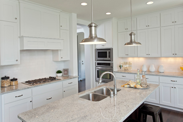 The Westfield - Fall 2013 Parade of Homes Model kitchen