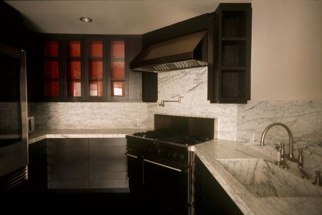 The Wilshire, Private Residence contemporary-kitchen