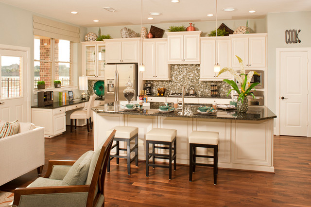 The Windson Tropical Kitchen Houston By David Weekley Homes