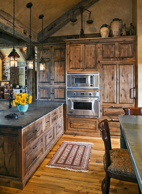 The Woodshop of Avon traditional-kitchen