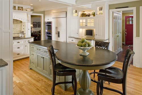 kitchen island eat in 15 eat in kitchens that put your dining room to shame 5053