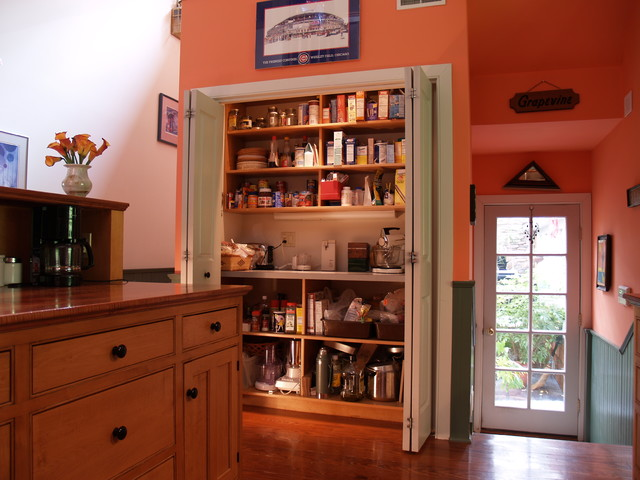 The Working Pantry / Clutter Fighter - Eclectic - Kitchen - other metro - by YesterTec Design ...