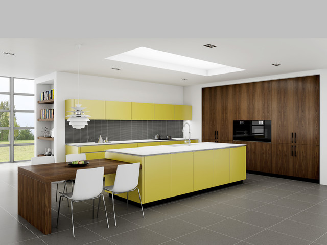 The Yellow Kitchen Modern Kitchen Sydney By Dan Kitchens Australia