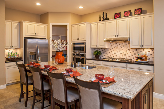 The Yosemite Plan at Velvendo | Phoenix, AZ traditional-kitchen