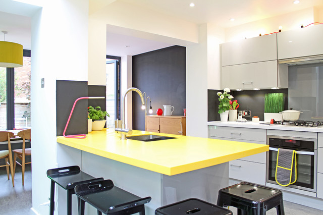 Theatre Director 39 S House In Clifton Bristol Contemporary Kitchen South West By Dhv