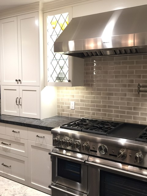 Thermador Countertop Stove : Thermador range with steam oven transitional-kitchen
