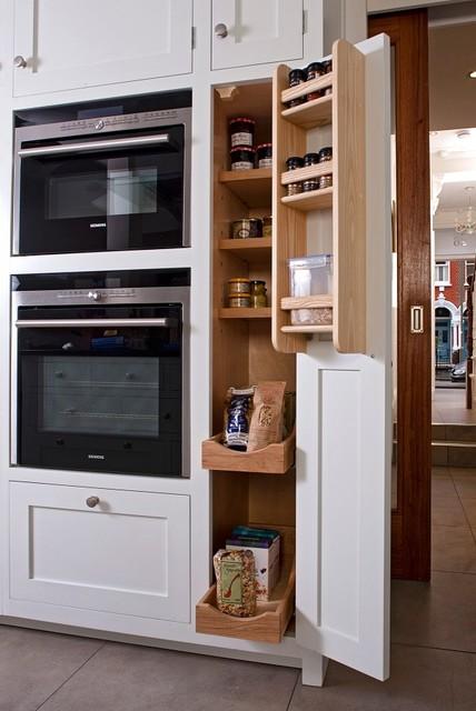 Thin Larder Traditional Kitchen London By Higham