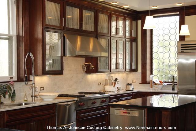 Thomas A. Johnson Custom Kitchen Cabinetry  Mahogany ...