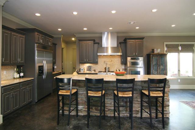 Thomas Contemporary Kitchen Dallas By Modern Craft