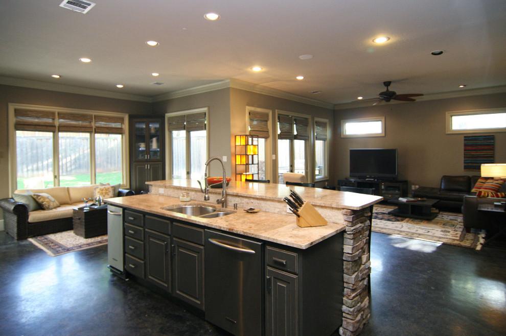 Thomas - Contemporary - Kitchen - Dallas - by Modern Craft ...