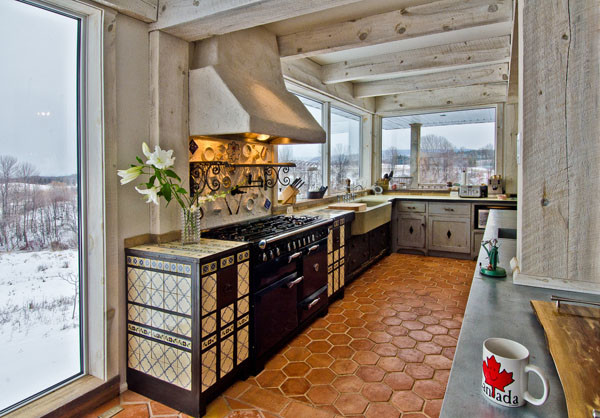 Thornbury Country home eclectic-kitchen