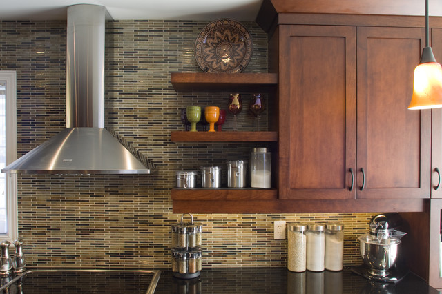 JC1005 - Warm and Earthy eclectic kitchen