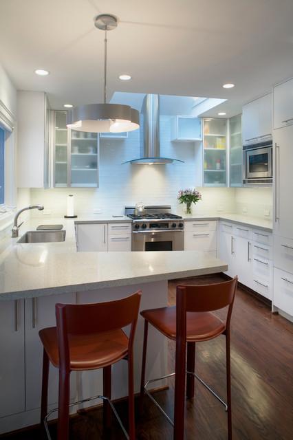 Thoroughly modern update contemporary kitchen for Modern kitchen updates