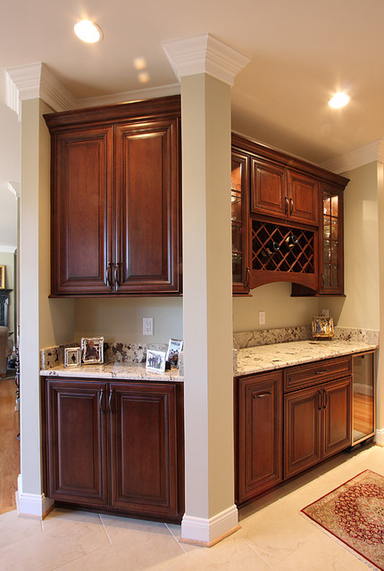 Three Room Remodel traditional-kitchen