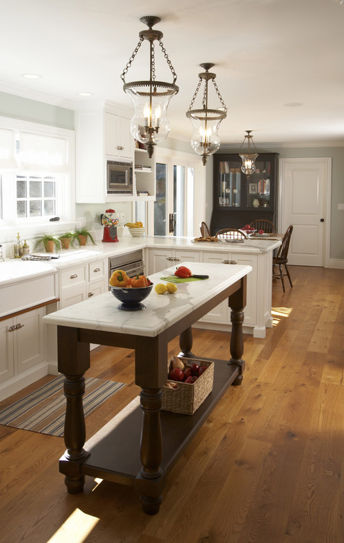 House in the Hamptons traditional kitchen
