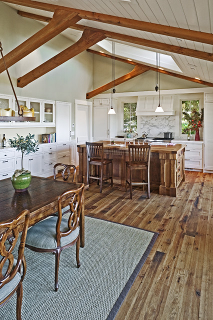 Tiburon Residence traditional kitchen