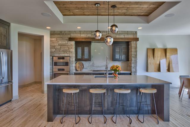 Tiburon Ridge Modern Rustic   Transitional   Kitchen   Omaha   By Inspired  Interiors