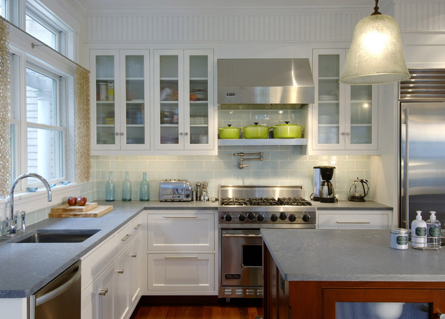 Tidal Marsh modern kitchen