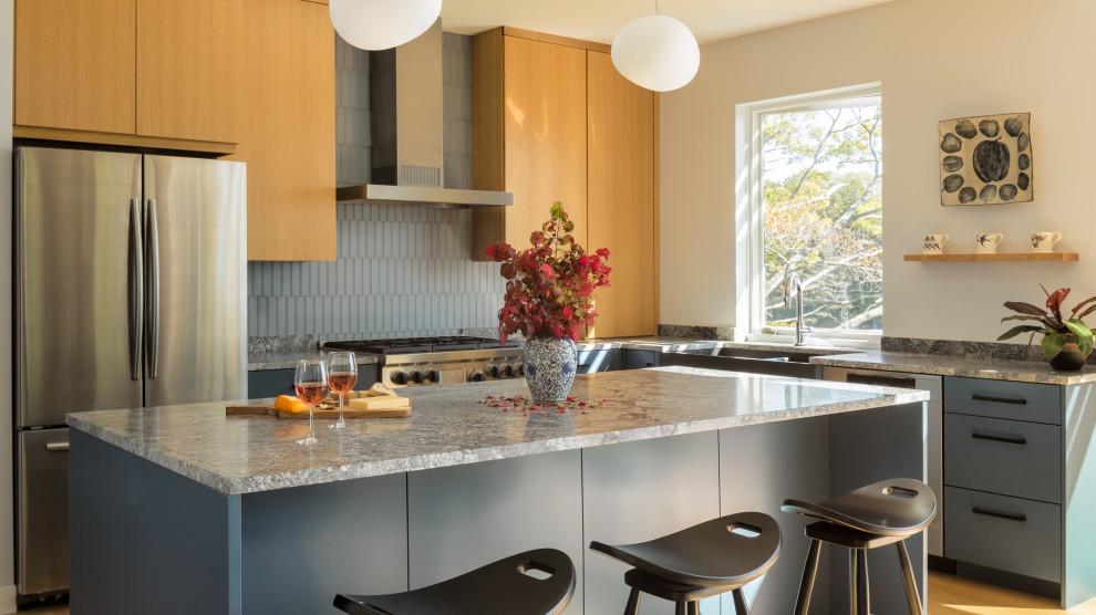 Tidewatch - Contemporary - Kitchen - Portland Maine - by ...