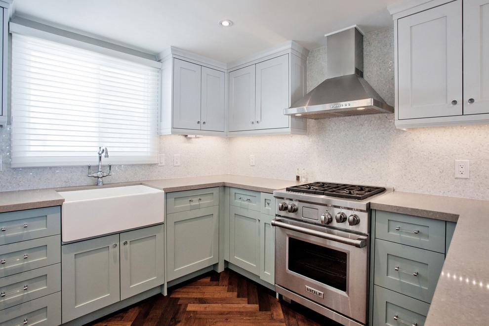 Tiffany Blue Kitchen Contemporary Kitchen Toronto By Madison Taylor Houzz