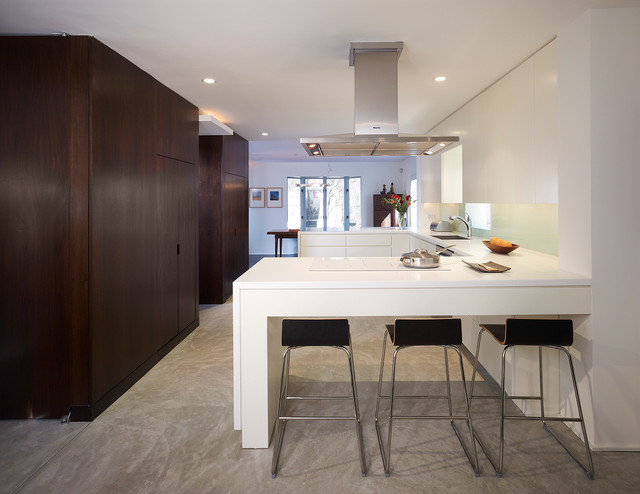 Tilden Street by Kamm Architecture constructed by The Ley Group modern-kitchen