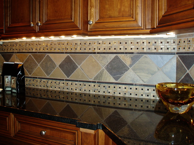 Tile and Stone traditional-kitchen