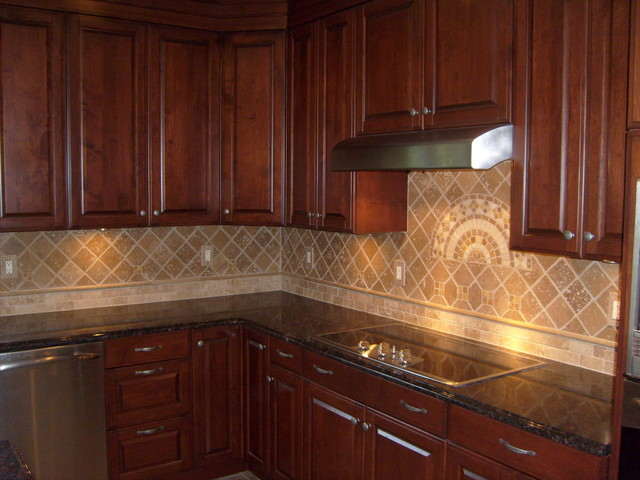 tile backsplashes traditional kitchen other by unique