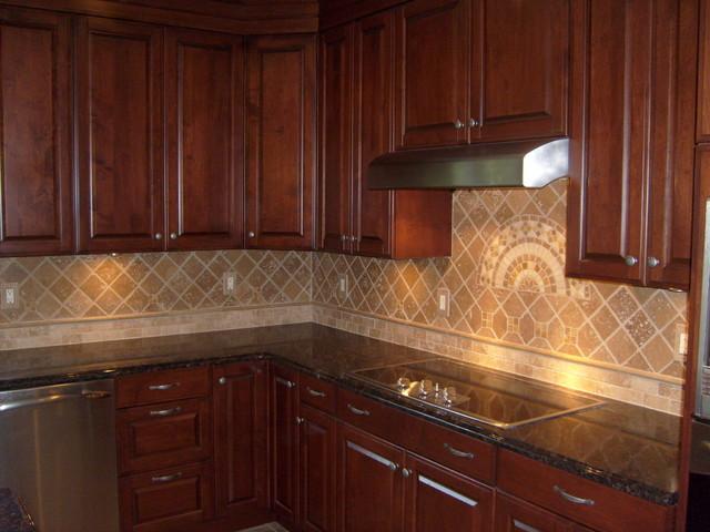 tile backsplashes traditional kitchen other by