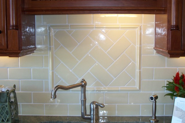 Tile Layout traditional-kitchen